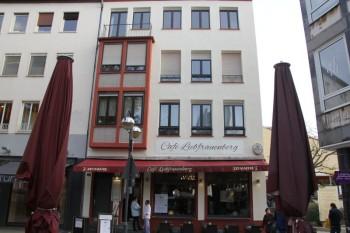 Café Liebfrauenberg in Frankfurt, Erneuerung der Fassade