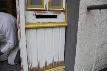 Bearbeitung einer Tür