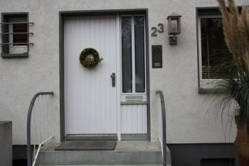 Fertig bearbeitete Tür